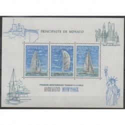Monaco - Blocs et feuillets - 1985 - No BF32 - Navigation
