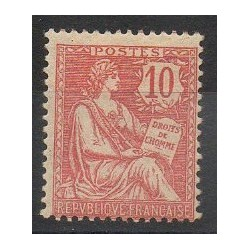 France - Poste - 1902 - No 124 - Neuf avec charnière