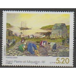 Saint-Pierre et Miquelon - 2000 - No 709 - Peinture