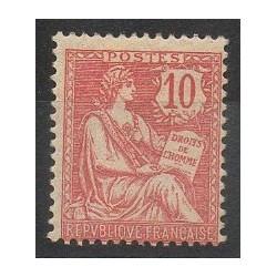 France - Poste - 1902 - Nb 124