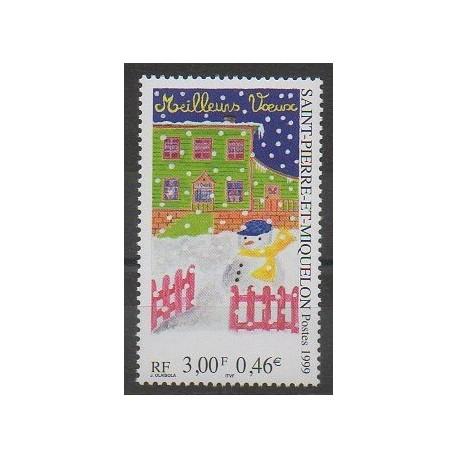 Saint-Pierre et Miquelon - 1999 - No 705