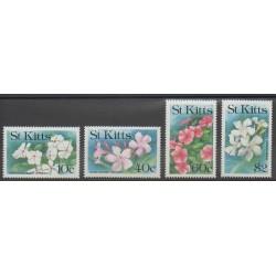 Saint-Christophe - 1991 - No 733/736 - Fleurs
