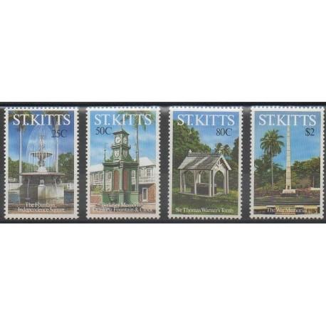 Saint-Christophe - 1992 - No 762/765 - Monuments