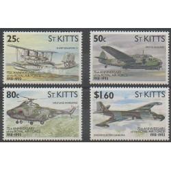 Saint-Christophe - 1993 - No 770/773 - Histoire militaire - Aviation - Hélicoptères