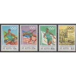 Saint-Christophe - 1996 - No 842/845 - Jeux Olympiques d'été