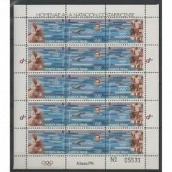 Costa Rica - 1996 - No F611/F613 - Jeux Olympiques d'été