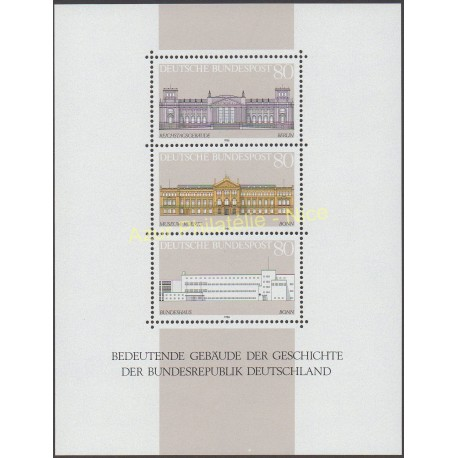 West Germany (FRG) - 1986 - Nb BF 19 - Monuments