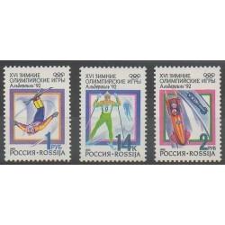 Russie - 1992 - No 5915/5917 - Jeux Olympiques d'été