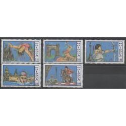 Moldavie - 1992 - No 18/22 - Jeux Olympiques d'été