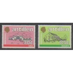 Netherlands Antilles - 1988 - Nb 819/820