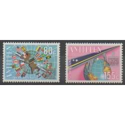 Antilles néerlandaises - 1988 - No 829/830