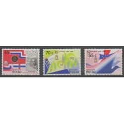 Netherlands Antilles - 1988 - Nb 821/823