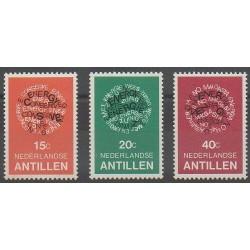 Netherlands Antilles - 1978 - Nb 552/554 - Environment