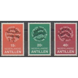Antilles néerlandaises - 1978 - No 552/554 - Environnement
