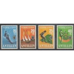 Antilles néerlandaises - 1978 - No 540/543 - Sports divers