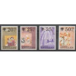Antilles néerlandaises - 1979 - No 588/591 - Enfance