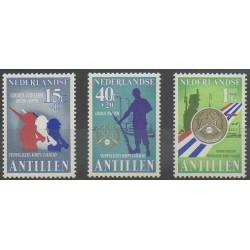 Antilles néerlandaises - 1979 - No 582/584 - Histoire militaire