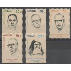 Antilles néerlandaises - 1992 - No 931/935 - Célébrités