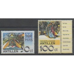 Netherlands Antilles - 1992 - Nb 942/943 - Christmas