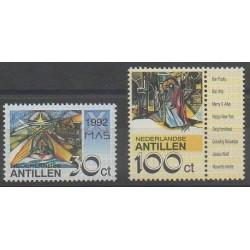 Antilles néerlandaises - 1992 - No 942/943 - Noël