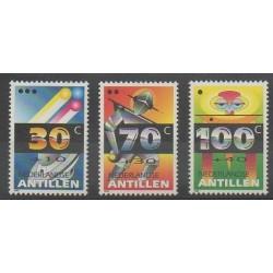 Antilles néerlandaises - 1992 - No 939/941 - Enfance