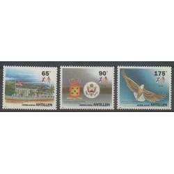 Antilles néerlandaises - 1993 - No 961/963 - Histoire