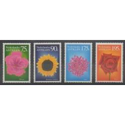 Netherlands Antilles - 1993 - Nb 944/947 - Flowers