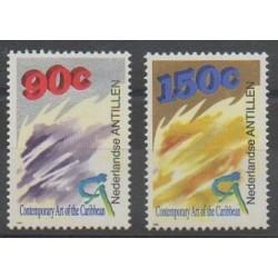 Antilles néerlandaises - 1993 - No 959/960 - Peinture