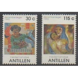Antilles néerlandaises - 1993 - No 967/968 - Noël