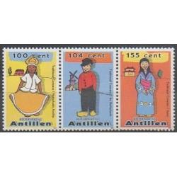 Netherlands Antilles - 2008 - Nb 1786/1788 - Costumes - Uniforms - Fashion