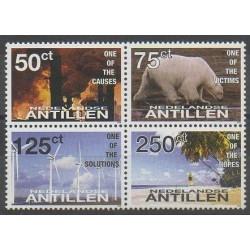 Antilles néerlandaises - 2008 - No 1736/1739 - Environnement
