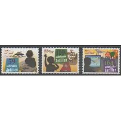 Antilles néerlandaises - 2009 - No 1867/1869 - Télécommunications