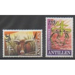 Netherlands Antilles - 2009 - Nb 1841/1842 - Horoscope
