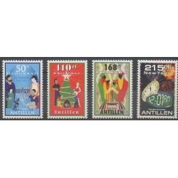 Netherlands Antilles - 2009 - Nb 1905/1908 - Christmas