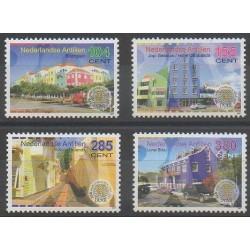 Antilles néerlandaises - 2007 - No 1690/1693 - Architecture