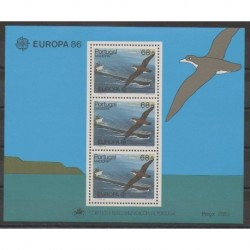 Portugal (Madeira) - 1986 - Nb BF7 - Birds - Europa