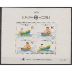 Portugal (Açores) - 1989 - No BF10 - Enfance - Europa