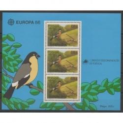 Portugal (Açores) - 1986 - No BF7 - Oiseaux - Europa