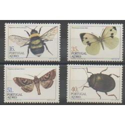 Portugal (Açores) - 1984 - No 354/357 - Insectes