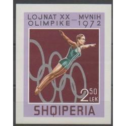 Albanie - 1972 - No BF21 - Jeux Olympiques d'été