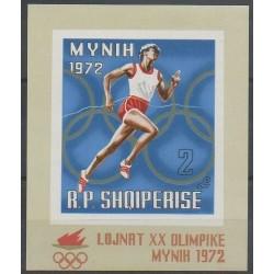 Albanie - 1971 - No BF18 - Jeux Olympiques d'été