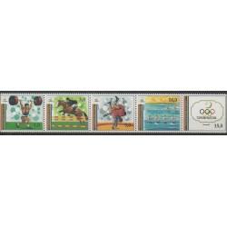Turkménistan - 1993 - No 25/29 - Jeux Olympiques d'été
