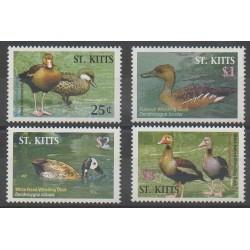 Saint-Christophe - 2005 - No 1196/1199 - Oiseaux