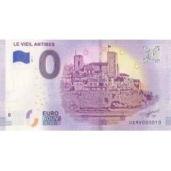 Billet souvenir - 06 - Le Vieil Antibes - 2019-5 - No 10