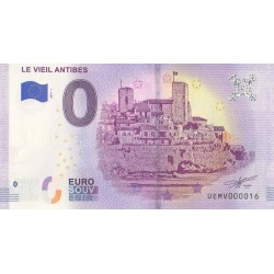 Euro banknote memory - 06 - Le Vieil Antibes - 2019-5 - Nb 16