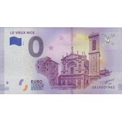 Euro banknote memory - Le Vieux Nice - 2018-1 - Nb 1962