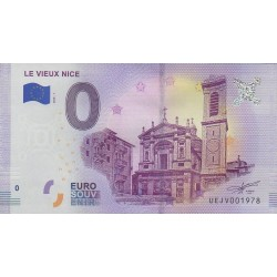 Billet souvenir - Le Vieux Nice - 2018-1 - No 1978