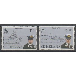 St. Helena - 1984 - Nb 398/399 - Royalty