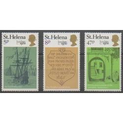 Sainte-Hélène - 1980 - No 326/328 - Service postal - Philatélie
