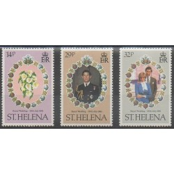 St. Helena - 1981 - Nb 340/342 - Royalty